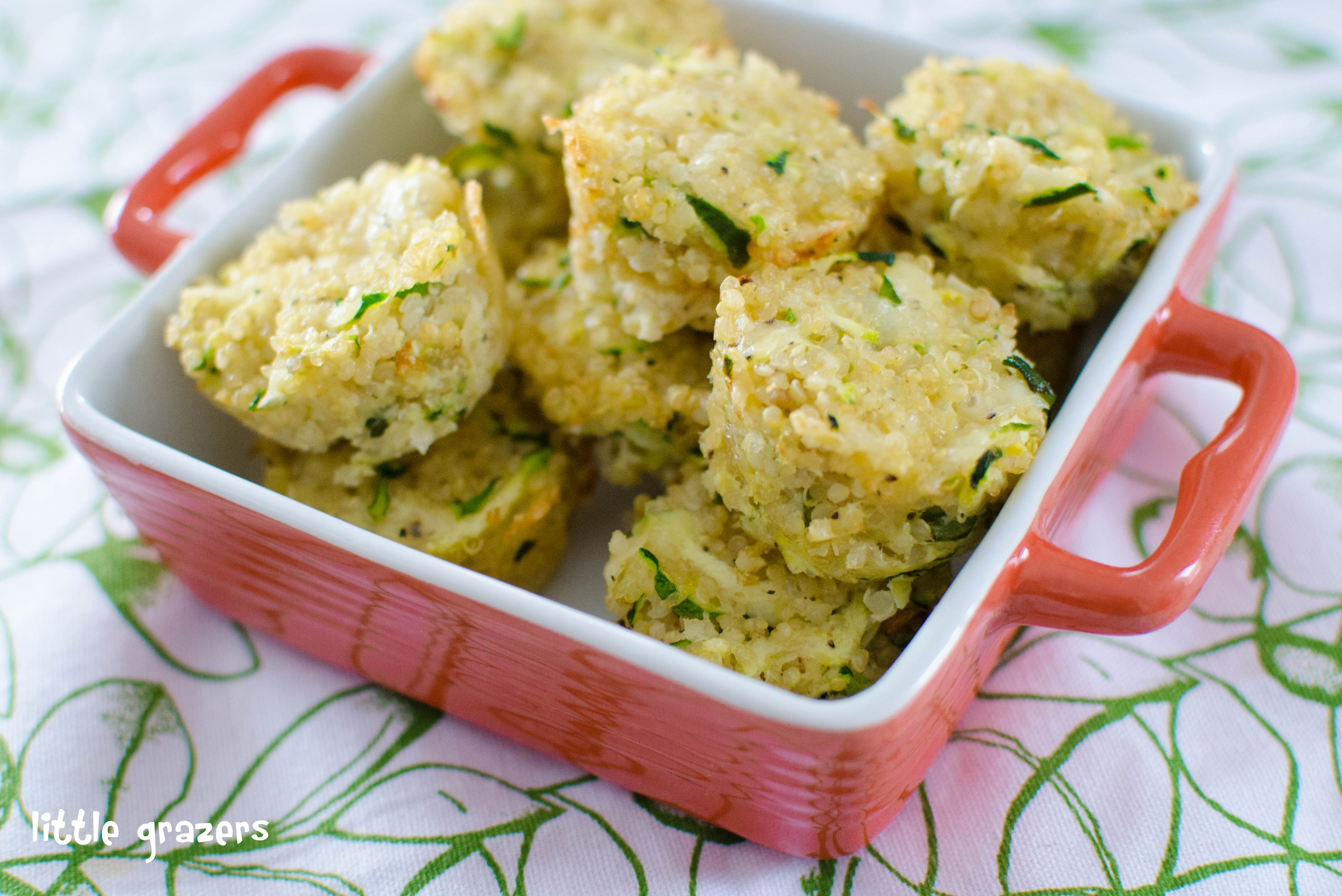 And parmesan quinoa bites zucchini and parmesan quinoa bites forumfinder Choice Image