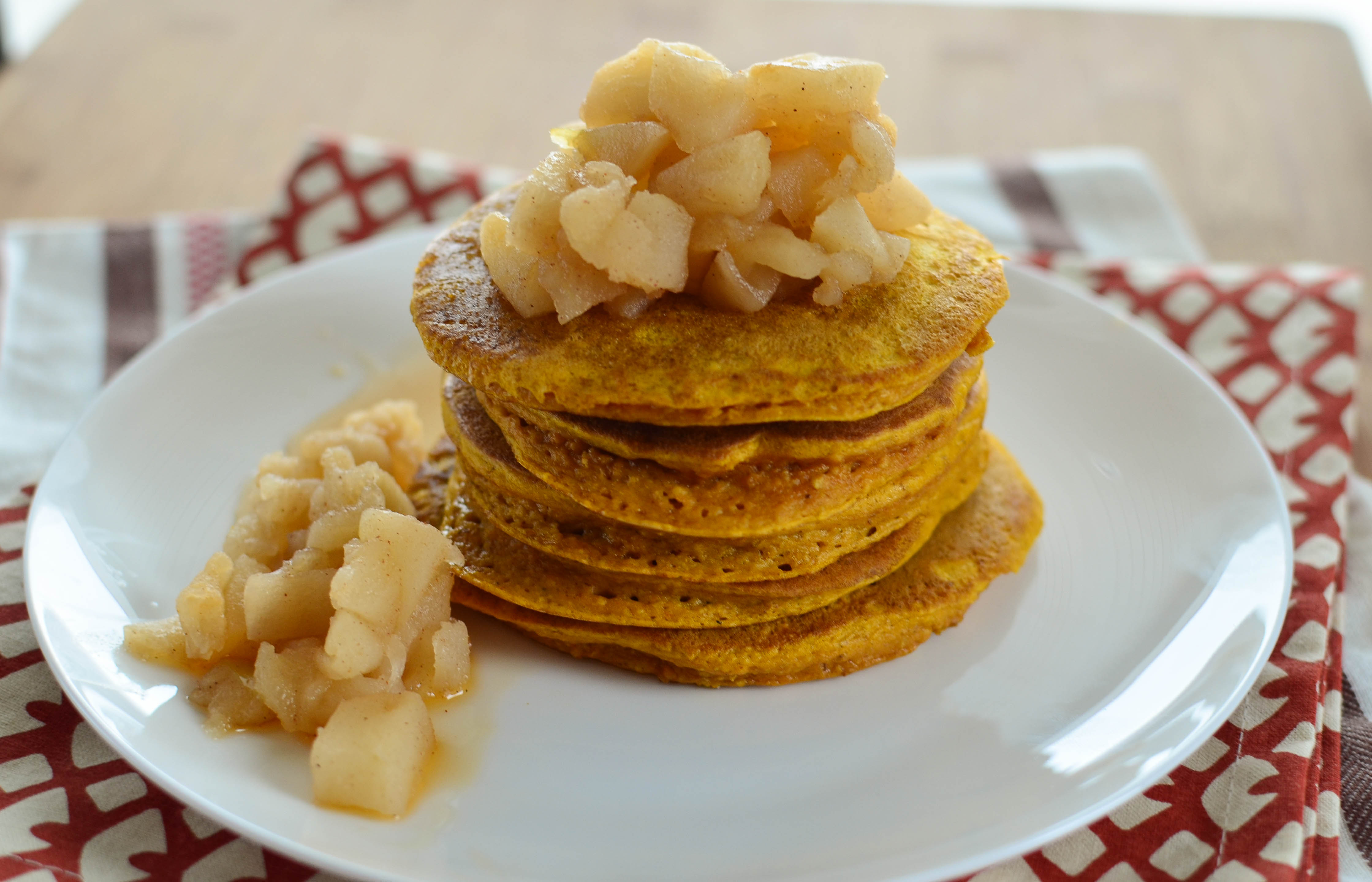 Little Grazers Fluffy Pumpkin Oatmeal Pancakes - blw, baby led weaning ...