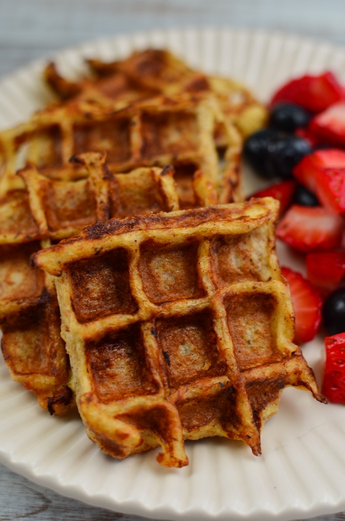 Mini French Toast Waffles Little Grazers Delicious